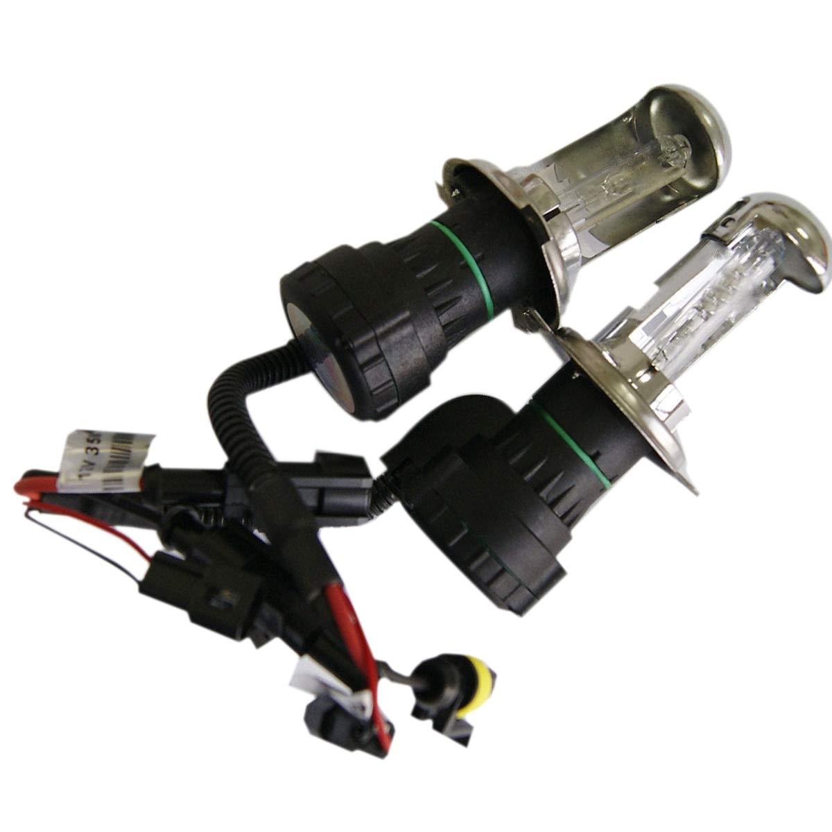 FY Garage - Tonewan 2X H4-3 Xenon 12v 35W H4 xenon HID For Car Headlight Replacement lamps Bulb light H4 Xenon Hi/Lo Beam 3000K-12000K