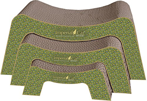 Picture Imperial Cat Scratch and Snooze Scratch and Shape, Peacock