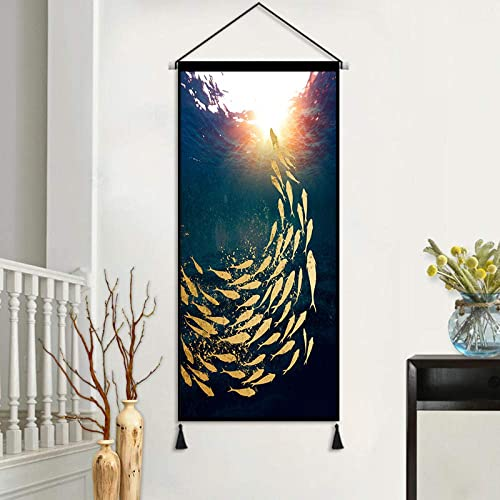 Poster Picture Photos Landscape Hanging Painting Fabric Tapestry American Living Room Room Porch Decoration Background Wall Hanging Cloth