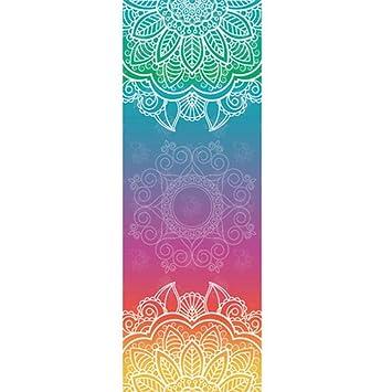 SULUO Toalla de Yoga Mandola clásica 183 * 65 Textura de ...