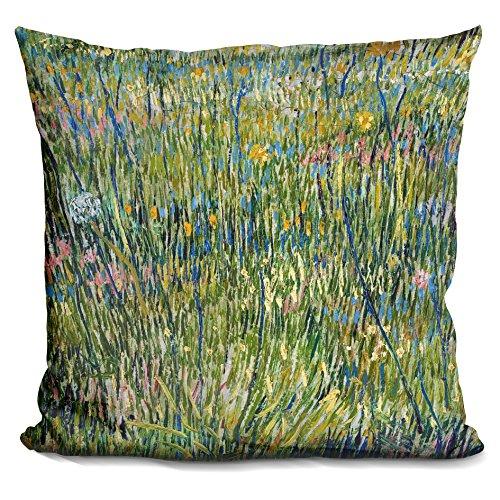 LiLiPi Patch of Grass Decorative Accent Throw Pillow