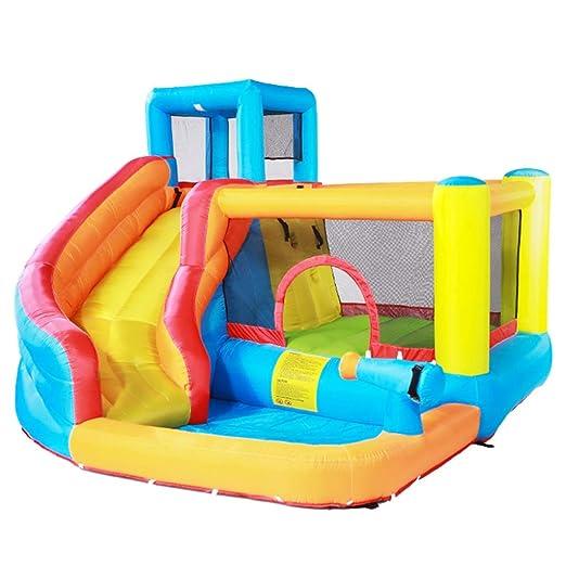 Castillo Inflable para niños Parque Infantil pequeño ...