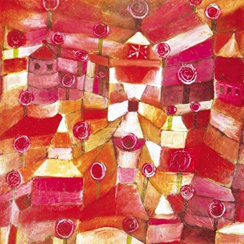Posters: Paul Klee Poster Art Print - Rose Garden, 1920