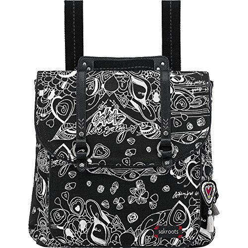 Sakroots Artist Circle Convertible Backpack (One Size, METALLIC SONGBIRD)