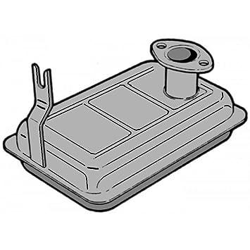 Le gusta 03456 silenciador para motoazada Jlo 101 – 125 – 152