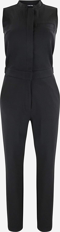 Abbigliamento Urban Moda Girocollo trueprodigy Casuale Donna Tuta Elegante Uni Semplice Jumpsuit Playsuit Overall Moda Vestiti Senza Manica /& Slim Fit Classic