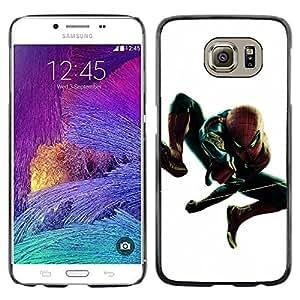 A-type Arte & diseño plástico duro Fundas Cover Cubre Hard Case Cover para Samsung Galaxy S6 (Araña Superhero)