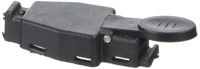 Sourcingmap - Plástico negro de piezas de repuesto para el interruptor de pistola de soldadura tig: Amazon.es: Industria, empresas y ciencia
