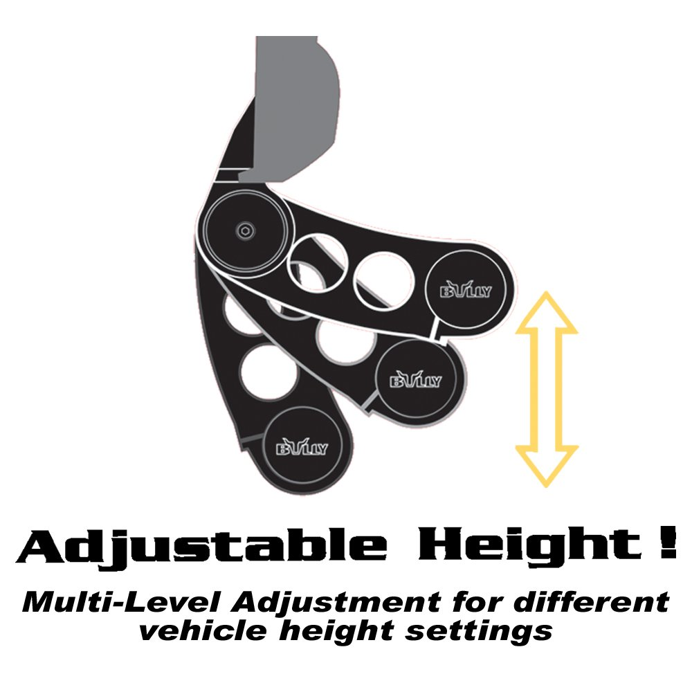 Universal Adjustable - 1 Piece Bully AS-500S Side Step