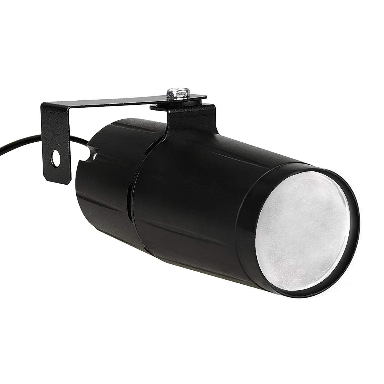 White Pin Spot Light Tight Beam Led DJ Mirror Ball Light Perfect For KTV Bar Club Party Effect Lighting Show MOUNTAIN_ARK