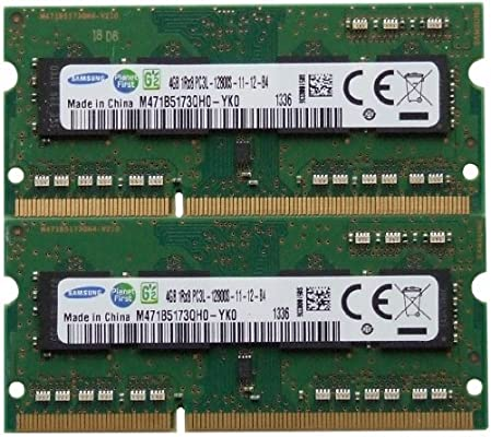Samsung ram memory 8GB kit (2 x 4GB) DDR3 PC3-12800,1600MHz for ...