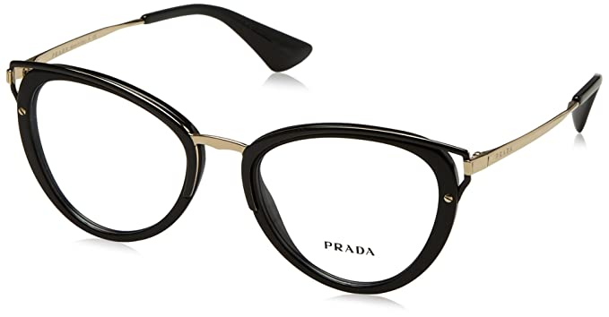 5fdef662d51 Prada Women s PR 53UV Eyeglasses 50mm at Amazon Women s Clothing store