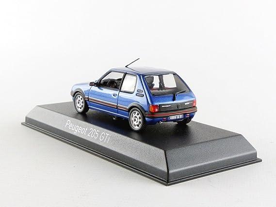 Norev nv471704 Peugeot 205 GTi 1,9 L 1992 - Miami Modelo de juguete, azul, 1: 43 Escala: Norev: Amazon.es: Juguetes y juegos