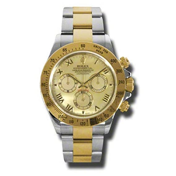Rolex Daytona automatic-self-wind Mens Reloj 116523 YM (Certificado) de segunda mano: Rolex: Amazon.es: Relojes