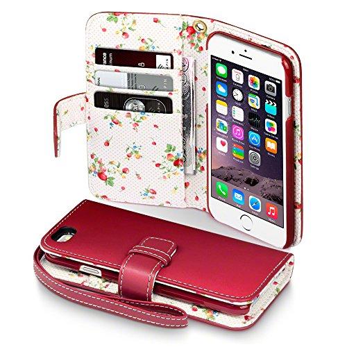 Iphone 6s case terrapin floral interior premium pu for Interior iphone 6