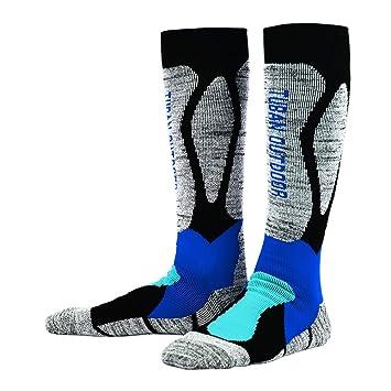 LMHZTMA Calcetines de esquí al Aire Libre Tubo Alto Engrosado Calcetines térmicos para Correr Hombres Mujeres