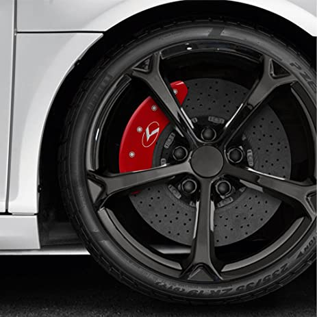 Amazon mgp set of 4 red circle k caliper covers 2017 2018 kia mgp set of 4 red circle k caliper covers 2017 2018 kia sportage sciox Image collections