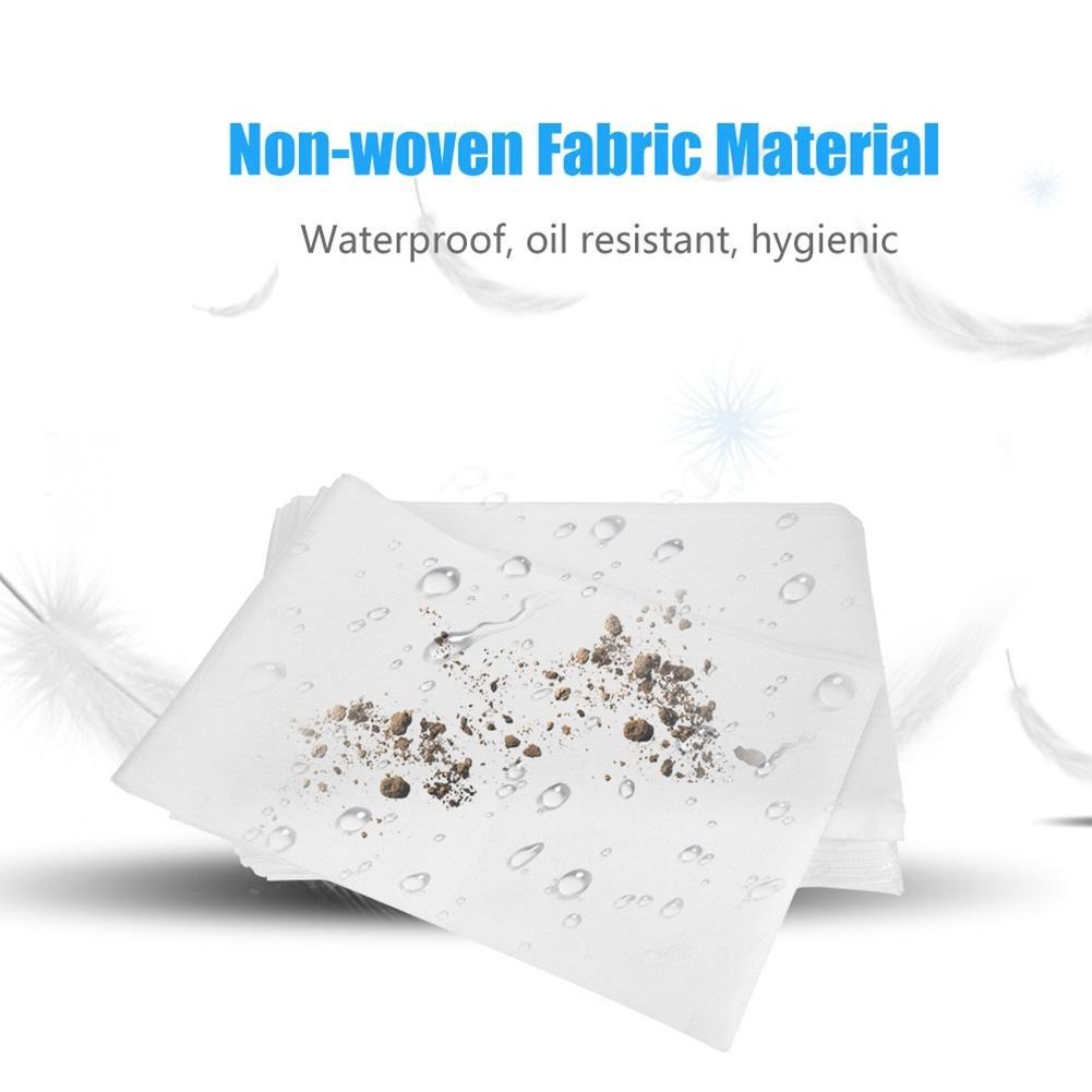 colch/ón individual 10pcs S/ábanas desechables impermeable y a prueba de aceite tatuaje hojas especiales no tejidas del hospital sal/ón de belleza