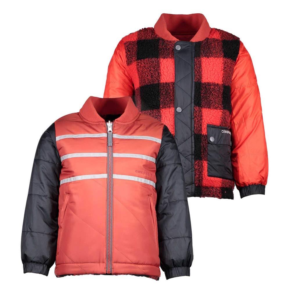 c766bf77a Amazon.com  Obermeyer Kids Baby Boy s Voyager Reversible Jacket ...