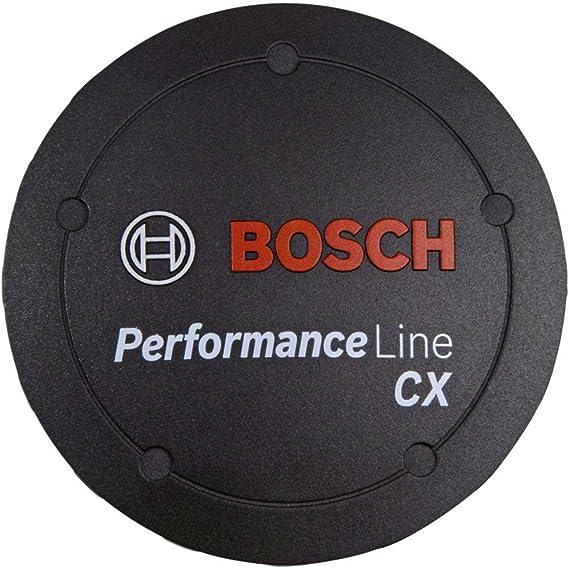 Schwarz BOSCH Logo-Deckel Performance Line CX
