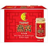 New Moon Bird's Nest with White Fungus Rock Sugar, 150 g (Pack of 6)