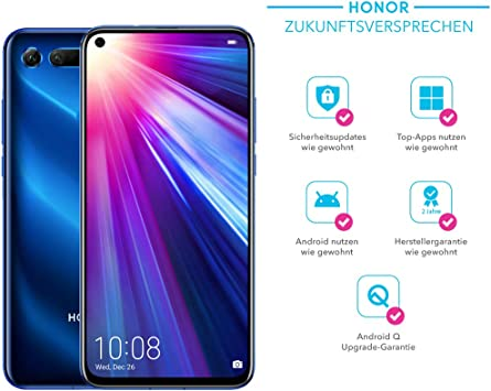 Honor View20 Cámara 3D de 48 MP – Smartphone Bundle (6,4 Pulgadas ...
