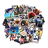 Fortnite Stickers 46pcs – Fortnite Gaming Decal Stickers Kids Birthday Party Favors Supplies Decorations