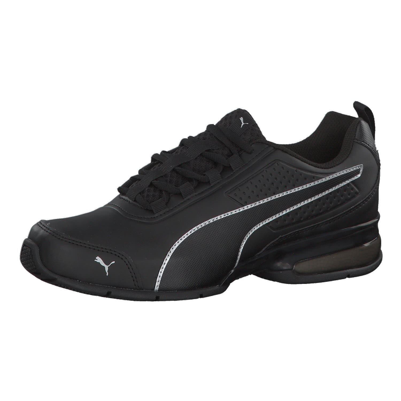 Puma Leader Vt SL, Zapatillas de Entrenamiento Unisex Adulto 43 EU|Negro (Puma Black-puma Black-puma Silver 02)