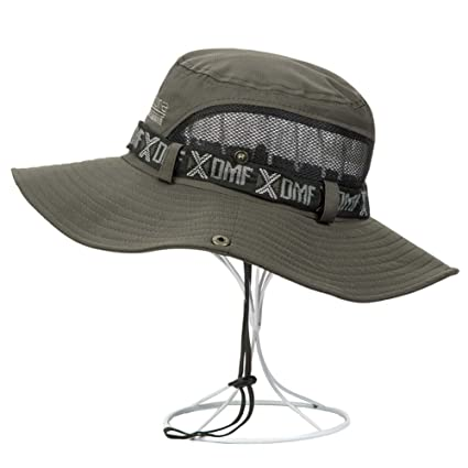 1a3d0730168 Image Unavailable. Image not available for. Color  PANDA SUPERSTORE Male Hat  Outdoor Summer Sun Hat Fishing ...