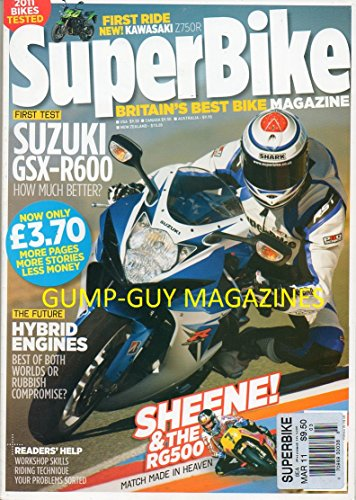 (Superbike Uk March 2011 Magazine)