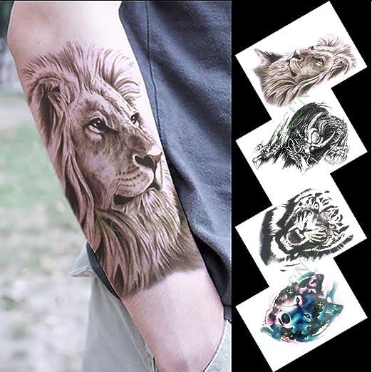 tzxdbh Etiqueta engomada del Tatuaje Temporal Impermeable águila ...