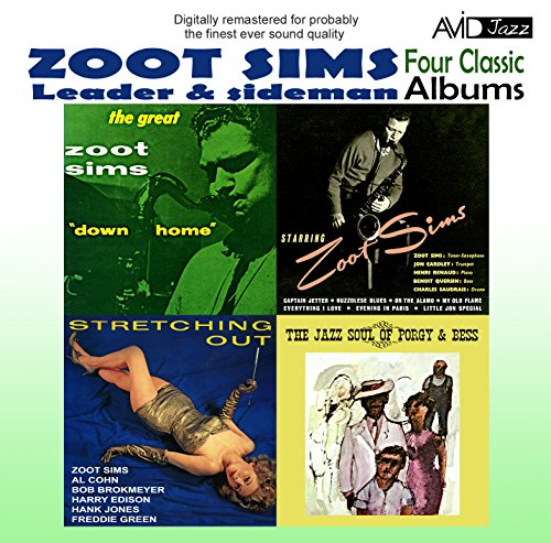 4 Classic Albums -Zoot Sims- Stretching Out / Starring Zoot / Downhome / Jazz