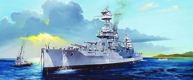 トランペッター 1/350 アメリカ海軍戦艦 BB-39 ニューヨーク