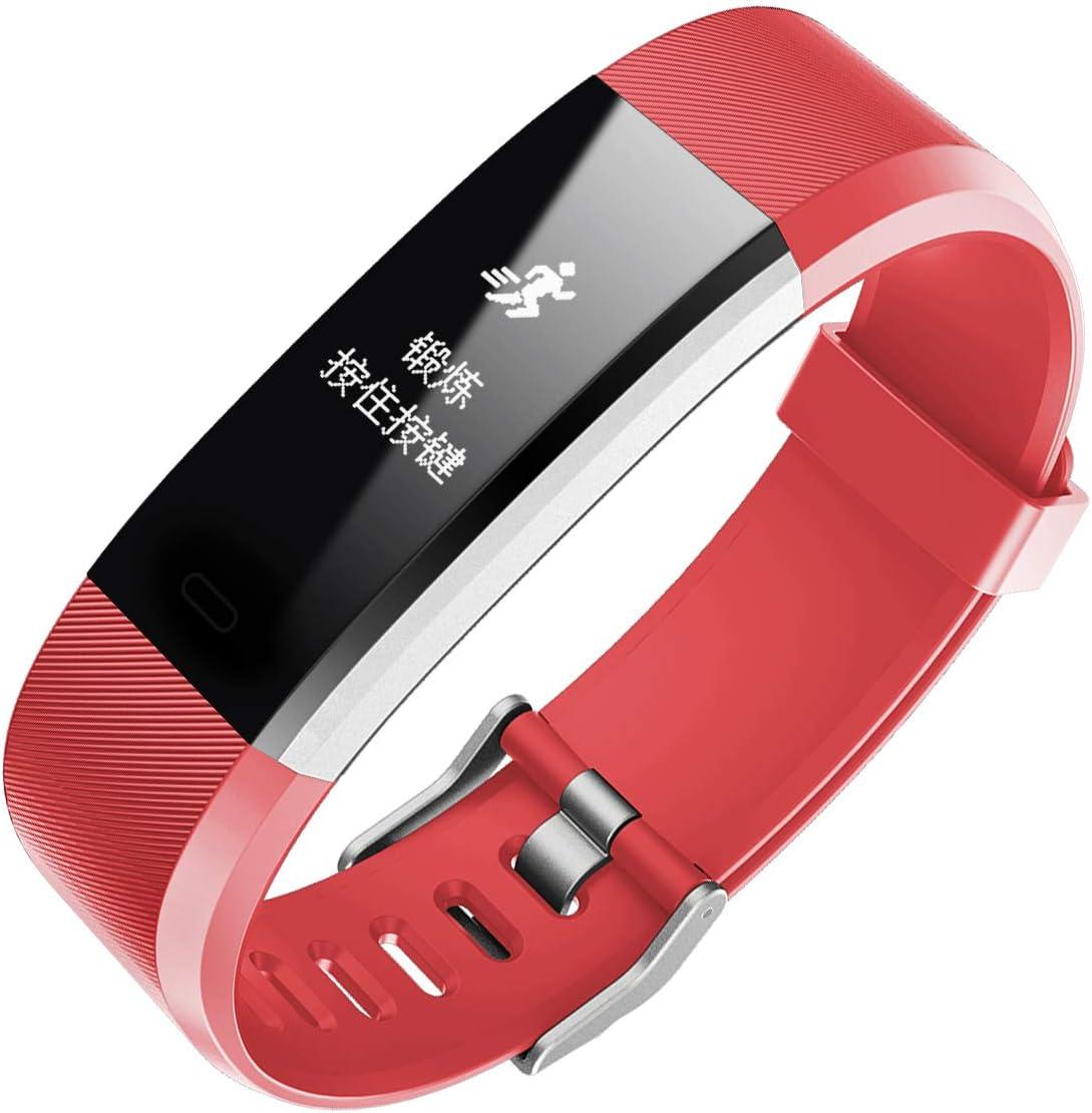 Anais Reloj Inteligente ID 115 Plus HR, Bluetooth ...