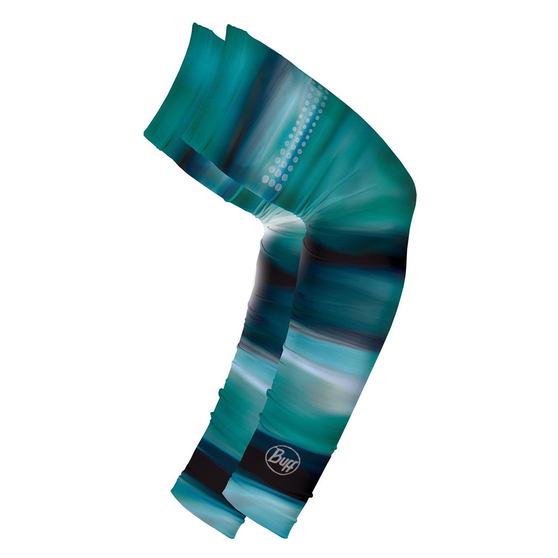 BUFF Unisex Thermal Arm Warmers, Bering Night, S/M