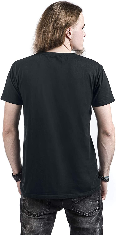 In Flames Hooked Jesterhead T-Shirt schwarz