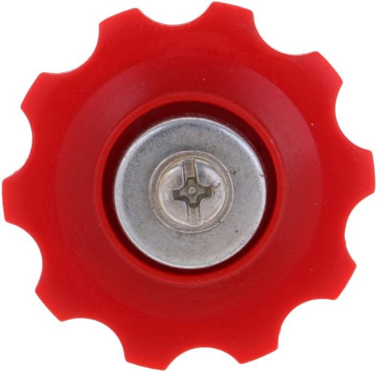 Mountain Bike MTB Prettyia 10Pcs Derailleur Pulleys Plastic,Steel 10T Sealed Bearing Jockey Wheel Rear Derailleur Pulleys for Road Bike BMX