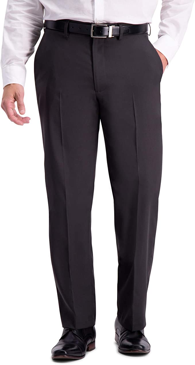 Haggar Mens Active Series Classic Fit Stretch Suit Separate Pant blue blazer 46S