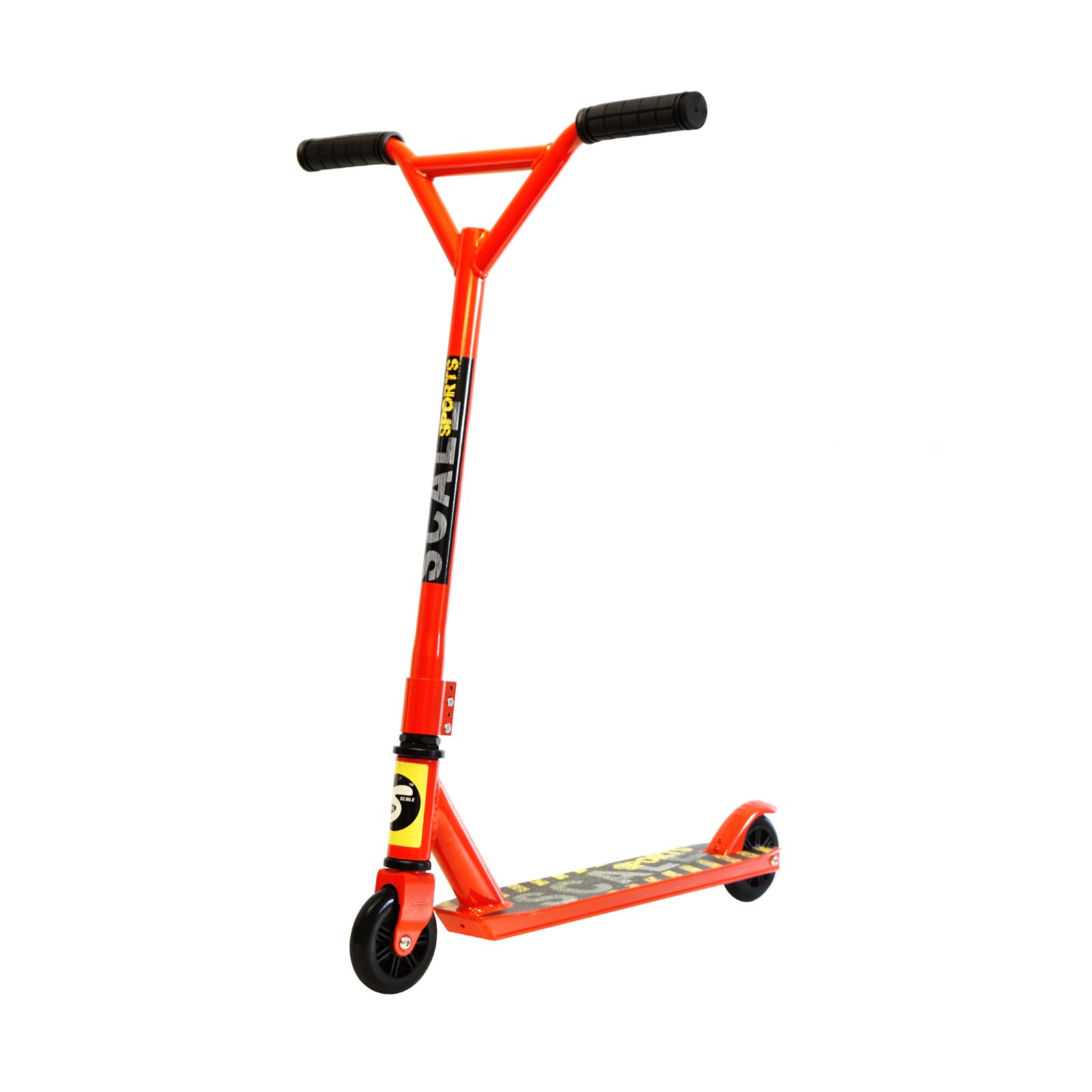 Freestyle Trick Stunt Scooter for Beginners Amateurs, Red
