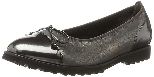 Gabor Shoes Jollys, Ballerine Donna, Grigio (79 Carbone/Steel), 35.5