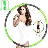 Hoola Hoops for Adults Weight Loss - Weighted Hoola Hoop,Jump Rope Weighted Exercise Hoola Hoops for Kids,Hoola Hoops Bulk,Pr