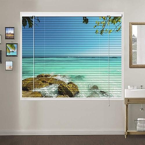 Patterned Aluminium Mini Window Blind