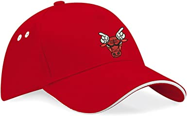 Chicago Bulls Basketball NBA Gorras de béisbol Bordado súper una ...