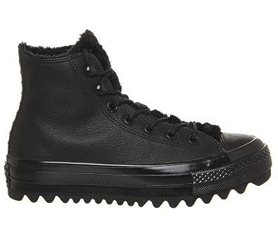 Converse Damen CTAS Lift Ripple Hi Sneaker Schwarz: Amazon