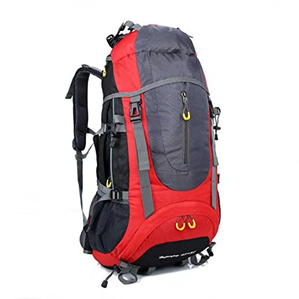 dbde074fe08e ZOUQILAI 70L (65 + 5) Outdoor Hiking Camping Backpack Collapsible ...