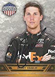 AUTOGRAPHED Denny Hamlin 2014 Wheels American Thunder (#11 FedEx Racing Team) Signed Collectible NASCAR Trading Card with COA