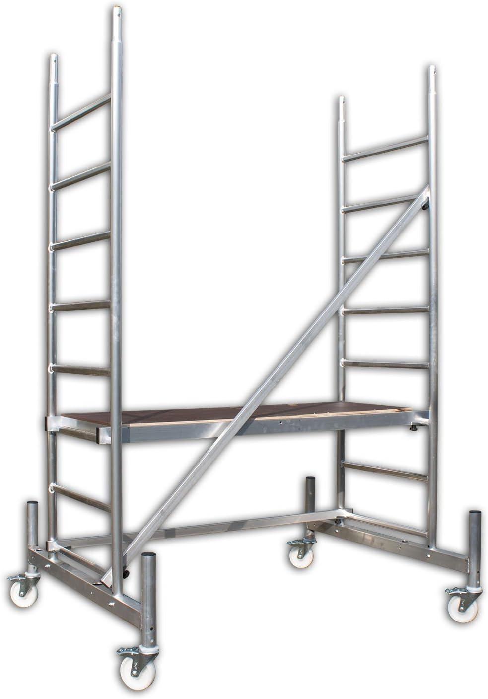 Arbeitsh/öhe 3 m neu ALTEC Rollfix 300 Rollen und Fahrtraverse inkl T/ÜV-gepr/üft