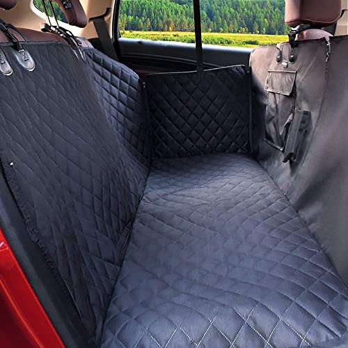 FATTY CHOWCHOW Dog Car Seat Covers 100 Waterproof Pet Back Seat Cover Scratch Proof Non-Slip Durable for Cars Trucks SUVs Extra Large