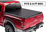 4. TruXedo TruXport 297601 Soft Roll-up Truck Bed Tonneau Cover for 09-14 5'7