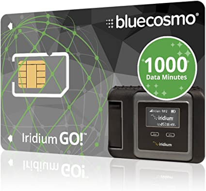 Amazon.com: bluecosmo Satellite Iridium Go. tarjeta SIM de ...